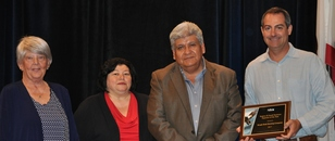 Photo: Jill Andrews, Cynthia Harris, Victor Castillo and Jeff Silver