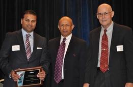 Photo: Shamus Ali, Sudershan Shaunak, and John Engstrom
