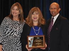 Photo: Lynn Pittman, Elaine Richardson and Sudershan Shaunak