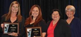 Photo: Karen Linehan, Alma Banuelos, Cynthia Harris and Jill Andrews