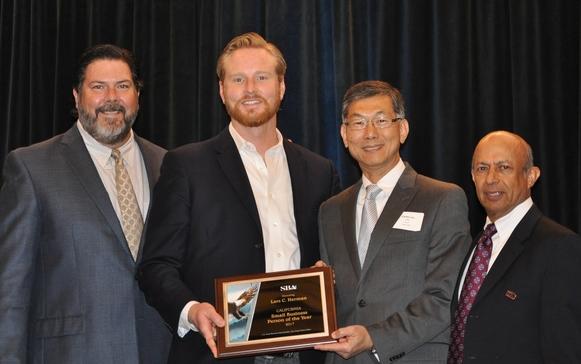 Photo: Lawrence McMahon; Lars Herman, Carlos Liu and Sudershan Shaunak
