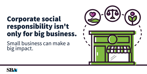 social responsibility of businesses Social responsibility is the idea that businesses should balance profit-making  activities with activities that benefit society it involves developing businesses with .
