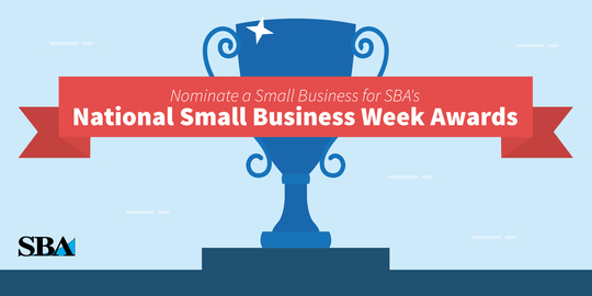 National Small Business Week Awards Nominate