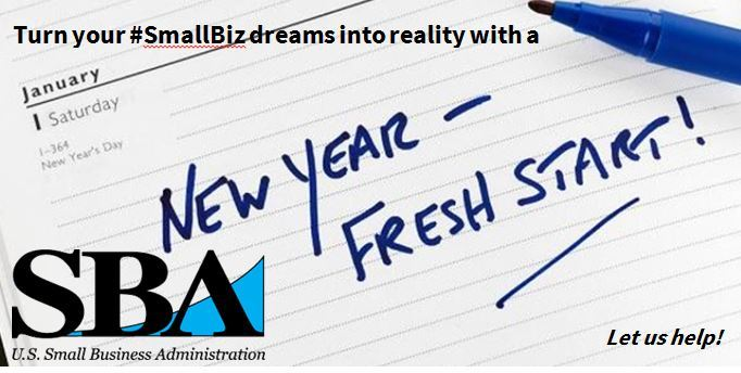 SBA New Year Fresh Start Workshop January 22--Second Session Now ...