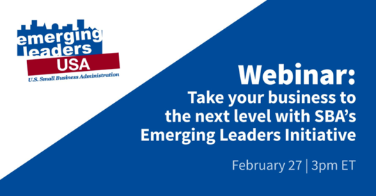 Emerging Leaders Webinar