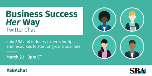 Business Success Her Way Twitter Chat