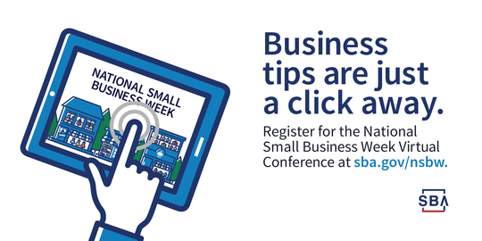 Register for the National Small Business Week Virtual Conference