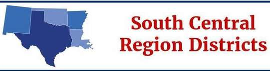 South Central Region District Banner