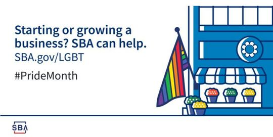 Starting or growing a business? SBA can help. SBA.gov/LGBT #PrideMonth