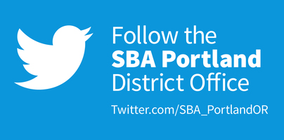 Follow SBA Portland Twitter Icon