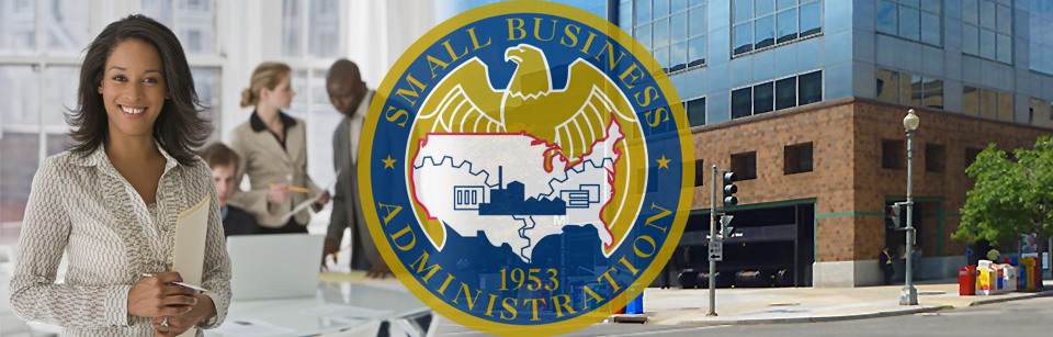 Image: SBA Seal on photo collage background