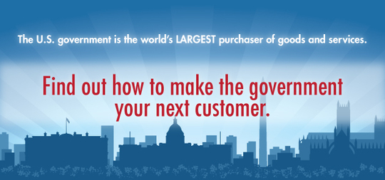 Find out how to make the government your next customer.