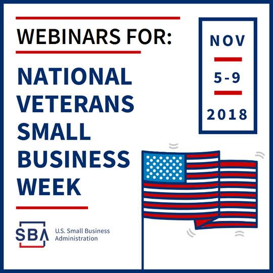 Webinars for Veterans and Military Spouses