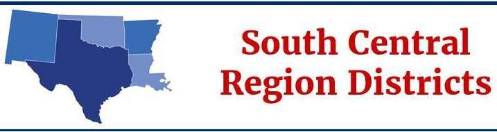 South Central Region Banner