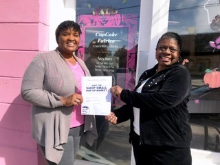 Jo Ann Lawrence visits NOLA small business