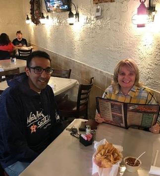 DD Angela Burton visits Los Asados