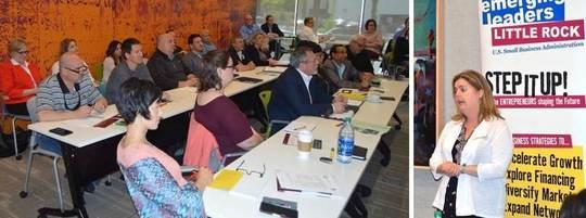 Arkansas Emerging Leaders Class with Instructor Melanie Berman