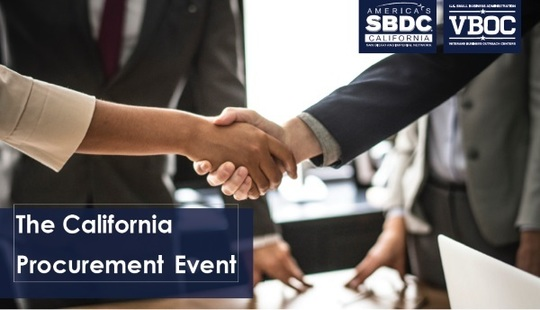 Image: Graphic header for the California Procurement Event