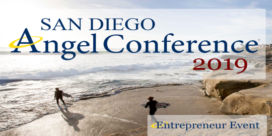 Image: Graphic for the San Diego Angel Conference 2019
