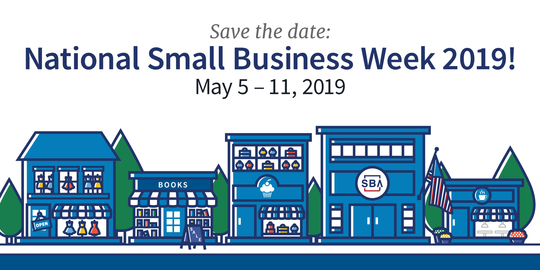 SBA 2019 Small Business Week Save the Date