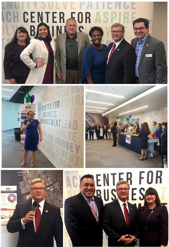 Photo Collage for South San Diego SBDC Day Open House