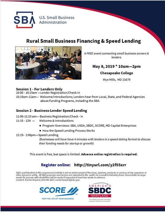 Rural Small Business Finance Seminar