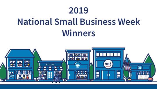 2019 National Small Business Week Winenrs