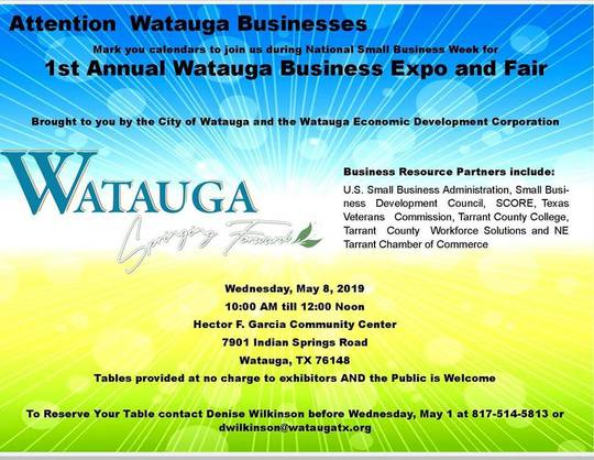 SBA to Participate in 1st Annual Watauga Business Expo and