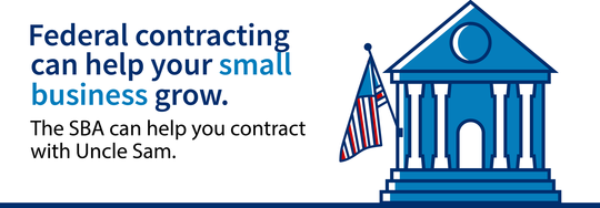 Federal contracting can help your small business grow. The SBA can help you contract with Uncle Sam.