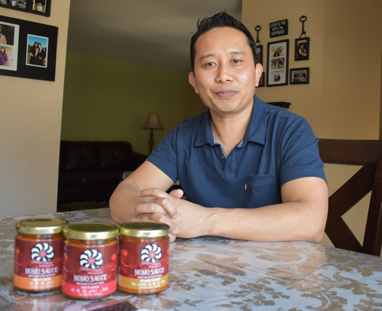 Nurbu Sherpa, owner of Sherpa Foods