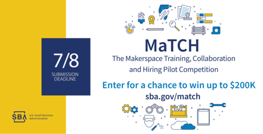Makerspace Training, Collaboration and Hiring (MaTCH) Pilot Competition