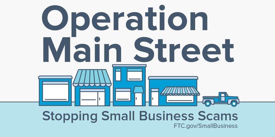 SBA 2019 Operation Main Street graphic