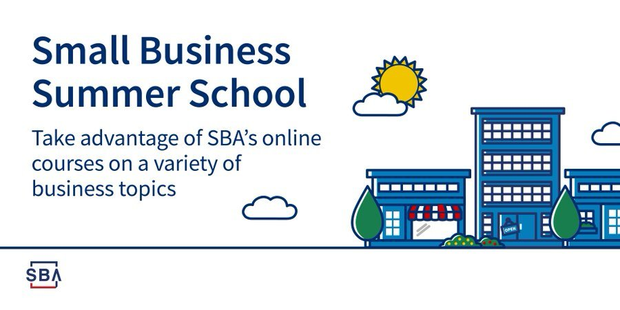 Small Business Summer School graphic