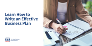 Learn how to write an effective business plan