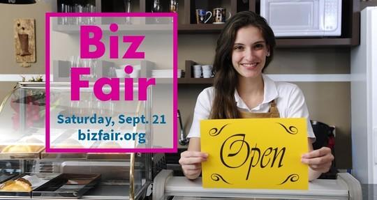 Biz Fair Saturday, Sept. 21 bizfair.org