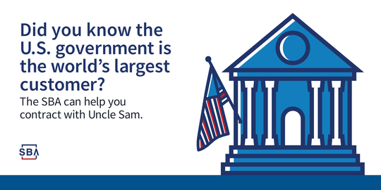 Did You Know the the U.S. Government is the World's Largest Customer?