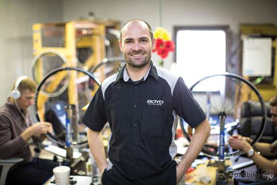 Boyd Johnson of Boyd Cycling