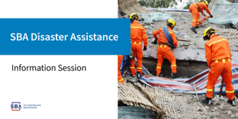 SBA Disaster Assistance Information Session