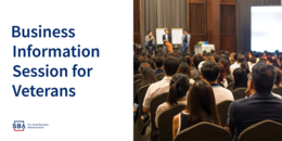 Business Information Session for Veterans