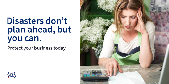 Disasters don't plan dhead, but you can. Protect your business today.