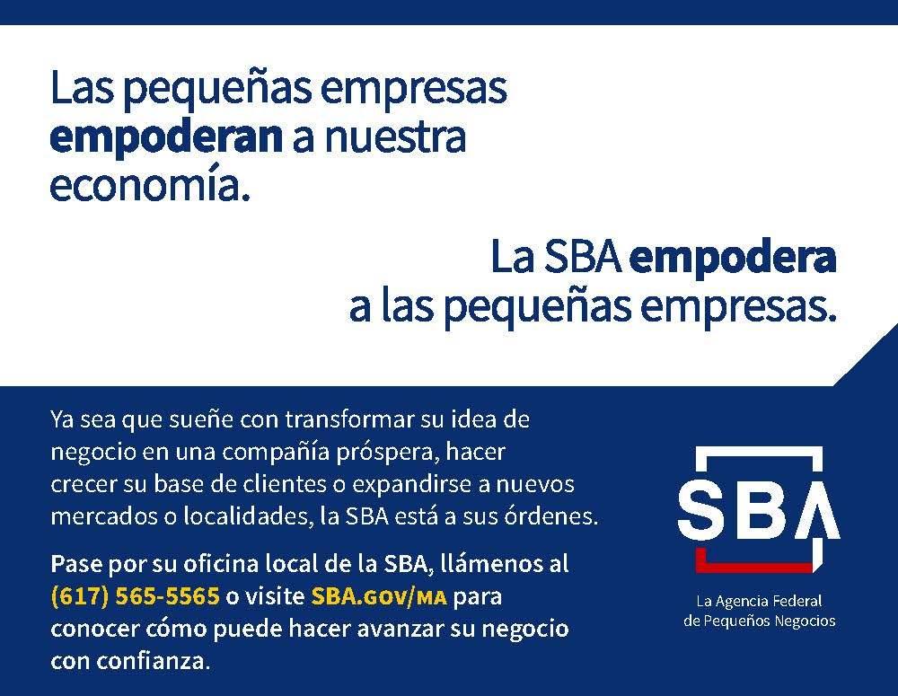 Spanish SBA Ad