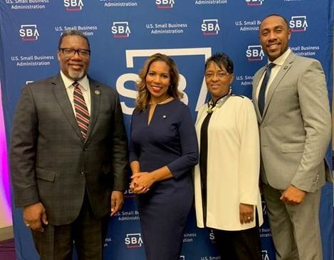 3 HBCU Presidents and Ashley bell