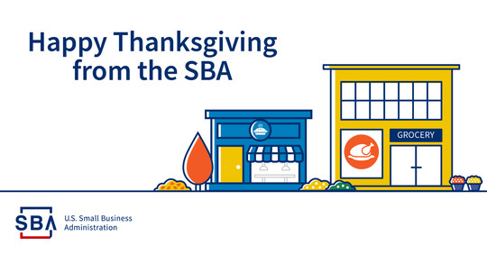Happy Thanksgiving from the SBA
