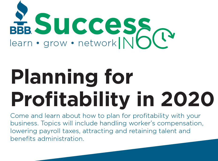 planning for profitability in 2020