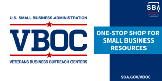 Veterans Business Outreach Centers are your one-stop shop for small business resources. Visit SBA dot gov slash VBOC.