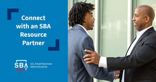 Connect with an SBA Resource Partner