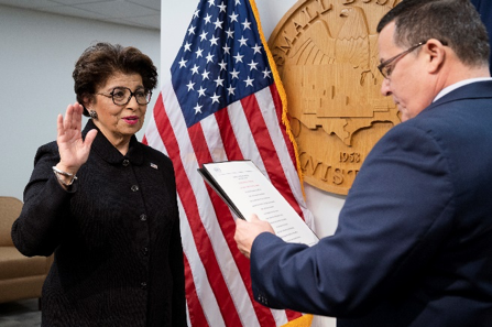 Administrator Jovita Carranza is sworn in at 26th SBA Administrator