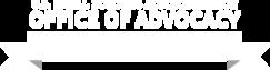 Advocacy logo white