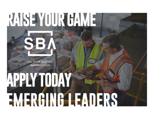 Emerging Leaders Image Graphic Raise Your Game Apply Today