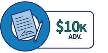 EIDL $10K advance